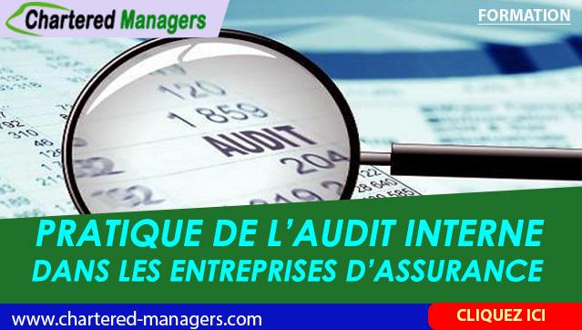 Pratique de l'Audit Interne dans les Entreprises d'Assurance